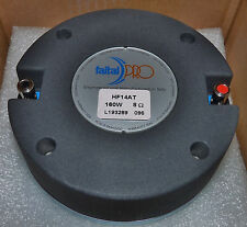 """Faital Pro HF14AT - 1.4"""" Pro Neodymium High Frequency Driver - 8 Ohms - New"""