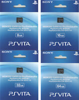 Sony Playstation PS Vita Memory Cards (8, 16, 32, 64 GB)