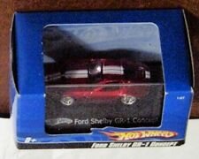 Hot Wheels 1:87 scale Blue box Ford Shelby GR-1 Concept red w/white item#L7167