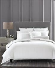 Hotel Collection Ladder Stitch Pique 100% Cotton QUEEN Sheet Set White F1147