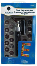 Walnut Hollow Clay Extruder Set Clay Polymer 20 Discs with Case No.28301
