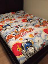VTG Voltron Comforter Blanket 1984 Defender Of Universe World Events Productions
