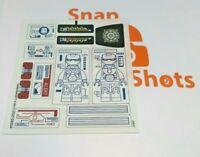 Lego Iron Man Malibu Mansion Attack 76007 Sticker Sheet NEW Marvel SuperHeroes