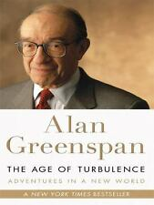 The Age of Turbulence : Adventures in a New World  (ExLib) by Alan Greenspan