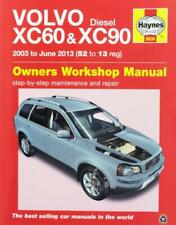Haynes VOLVO XC60 XC 60 D3 D5 GEARTRONIC Owners Service Workshop Manual Handbook