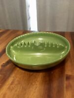 Vintage Mid-Century Dale Chemical Co Lime Green Plastic Ashtray
