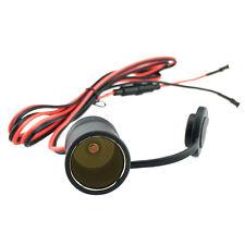 New listing Waterproof 12V-24V 120W Car Boat Cigarette Lighter Power Socket Plug with Fuse