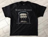 vintage Marilyn Manson Believe T Shirt 1996 Winterland reprint