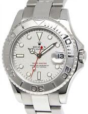 Rolex Yacht-Master Steel & Platinum Mens 40mm Automatic Watch D 16622