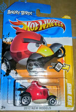 👍 ANGRY BIRDS ☆☆ RED BIRD ☆☆ 2012 HOT WHEELS NEW MODELS