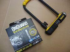 Onguard 8010c STD U-LOCK D LOCK SHACKLE Combo combinazione di sicurezza moto motorino