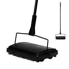 Black Modern Carpet Sweeper Cordless Rug  00006000 Cleaner