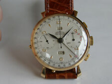 ANGELUS CHRONODATO-ORO ROSA 18 CT(0,750)-CALIBRE 217-OVERSIZE(39 MM)-MUY RARA