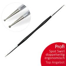 Profi Spot Swirl ergonomisch Doppelseitig Nailart Nail Modellage NAILDESIGN