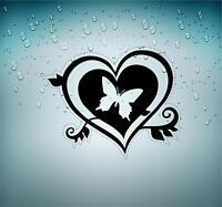 Sticker decal car vinyl jdm bomb tuning butterfly heart wall butterflies r2