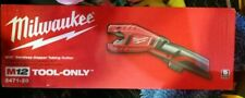 Milwaukee M12 2471-20 Cordless Copper Tubing Cutter (Tool Only) Brand NEW Sealed