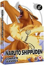 Naruto Shippuden Series 6 Complete Season Six Sixth Episodes 245-296 Region2 DVD
