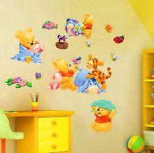 NEW Disney Winnie The Pooh & Friends Large Wall Sticker Baby Nursery Kids Decal
