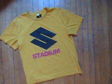 Justin Bieber Stadium Tour Tee shirt 2017 Yellow Large Bravado