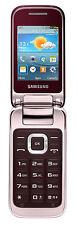 Téléphones mobiles clapets rouge