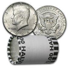 90% Silver Kennedy Half Dollar 20-Coin Roll Avg Circ (P & D) - SKU #5298