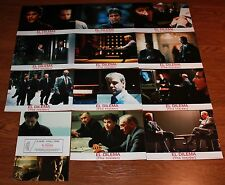 Al Pacino The Insider Spanish lobby card set Russell Crowe