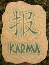 "plastic plaque ""Karma"" stepping stone oriental mold"
