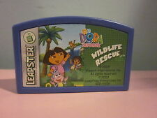 Leapster Leap Frog Dora The Explorer Wildlife Rescue Game