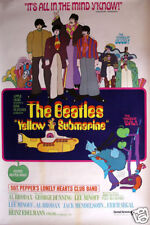 The Beatles yellow submarine #4 movie poster print