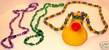 Lot Of 3 Mardi Gras Necklaces - Rubery Ducky & More!