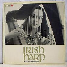 "33 tours AINE NICGABHANN Disque LP 12"" IRISH HARP - Harpe CARA 7002 RARE"