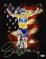 Lance Armstrong Authentic Signed 11X14 Metallic Photo Autographed BAS