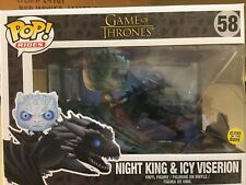 Funko 28671 Pop Rides Game of Thrones - Night King on Dragon Collectible Figure