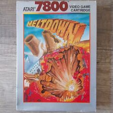 Atari 7800 ► Meltdown ◄ komplett in OVP