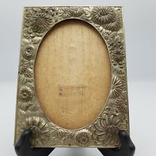 Vintage Sterling Silver Repousse Frame with Flowers