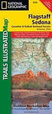 National Geographic Trails Illustrated AZ Flagstaff/Sedona Trail Map 856