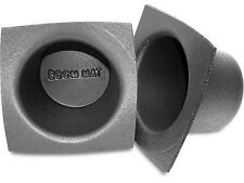 "DEI Boom Mat Car Audio System Stereo Speaker Deadening Baffle 5.25"" Round QTY 2"