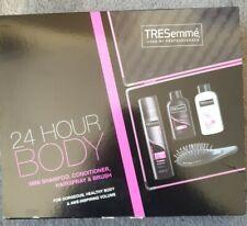 TRESemmė 24 Hr Body Hair Mini Shampoo,  Conditioner, Hairspray & Brush Boxed Set