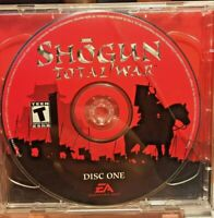 Shogun Total War PC Game With Strategy Guide; Bonus: Stronghold 2 Castle sim