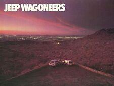 1987 JEEP WAGONEER LIMITED & GRAND WAGONEER BROCHURE -JEEP WAGONEERS