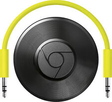 Google - Chromecast Audio - Black