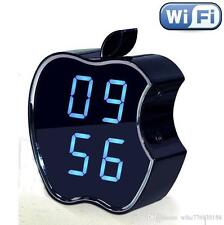 HD ALARM APPLE 3D LIGHT IP CAM WIFI 3G P2P INFRARED MOTION DETECTION SPY SOS BUG