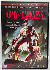 Army of Darkness (DVD, 1992) Widescreen, Bruce Campbell, Embeth Davidtz