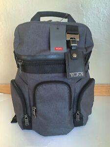 Tumi Nickerson 3 Pocket Expansion Backpack HeatherGray 69396HGYOP NWT