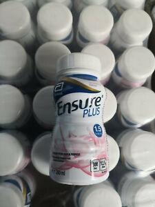 24 x Ensure Plus Strawberry - 200ml