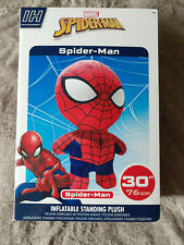 """MARVEL SPIDER-MAN 30"""" Inflate-a-Hero Gonflable 30"""" Peluche. Brand New in Box"""