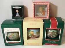 Hallmark Betsey Clark Ornament Lot (5) 1980 1987 1989 Glass Balls 1998 Miniature