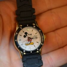 MICKEY MOUSE Watch FACE ONLY w/ Battery Seiko 7N82-6859 with Date Needs Band