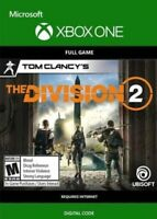 Tom Clancy's The Division 2 | XBOX One key | Region-free
