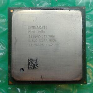 Intel Pentium 4 HT SL6WG 3.20GHz / 512KB / 800 Socket 478 Processor / CPU